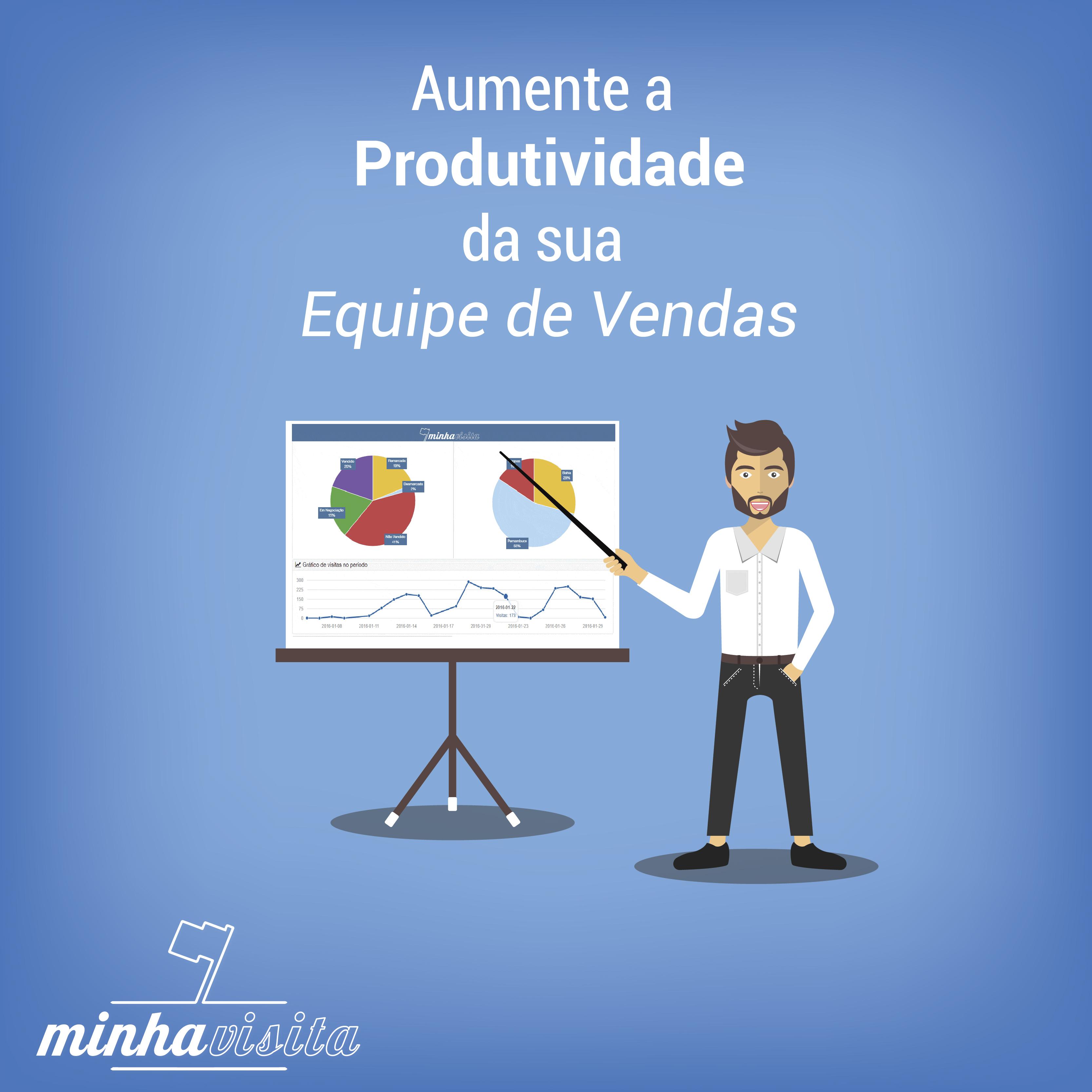 #Como aumentar a produtividade da Equipe de Vendas?